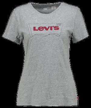 T-Shirt Femme Levi's Perfect Graphic (Gris)