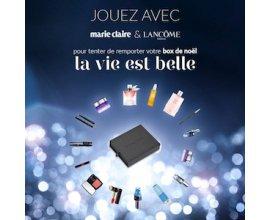 Marie Claire: Des box cadeaux personnalisées La Vie est Belle de Lancôme à gagner