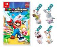 Fnac: 1 porte clé offert pour l'achat du jeu Nintendo Switch Mario + Lapin Crétins