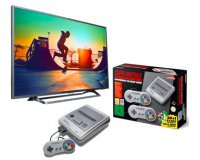 Rue du Commerce: TV LED 43'' (108cm) PHILIPS 43PUS6262/12 + Nintendo SuperNES Mini à 419€ (dont 50€ via ODR)