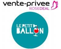 Vente Privée: [Rosedeal] Payez 50€ le bon d'achat Le Petit Ballon de 80€ ou 100€ le bon de 160€