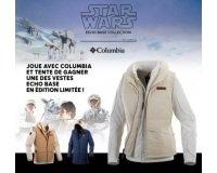 Columbia: Une des vestes en édition limitée inspirée de l'univers de Star Wars à gagner