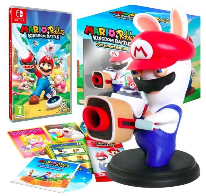 Code promo Fnac : Mario + The Lapins Crétins Kingdom Battle - Edition Collector sur Nintendo Switch à 39,99€