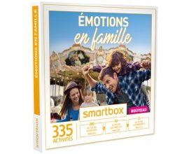 """Le Journal des Femmes: 5 coffrets Smartbox """"Émotions en famille"""" à gagner"""