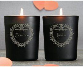 Cadeaux.com: 2 bougies personnalisées à 29.90€ au lieu de 33.80€