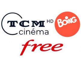 Free: [Abonnés Freebox] Les chaînes TCM et Boing offertes en janvier