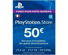 eBay: Carte Playstation Store de 50€ au prix de 41,99€