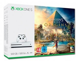 pack xbox one s 500 go assassin 39 s creed origins 189 95. Black Bedroom Furniture Sets. Home Design Ideas