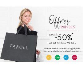 Caroll: [Offres privées] Jusqu'à -50% sur les articles signalés
