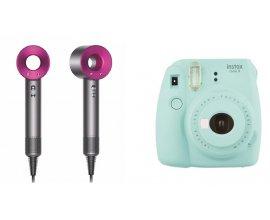 Hellocoton: 1 sèche cheveux Dyson Supersonic & 3 appareils photo Instax Mini de Fujifilm à gagner