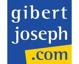 """Gibert Joseph: 5% de réduction sur votre commande + Livraison offerte avec le """"Retrait en magasin"""""""
