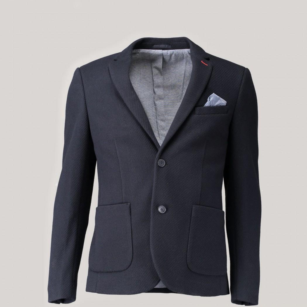 veste blazer homme bleu marine 69 99 au lieu de 99 99 devred 1902. Black Bedroom Furniture Sets. Home Design Ideas
