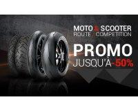 1001pneus: -50% sur une sélection de pneus Moto