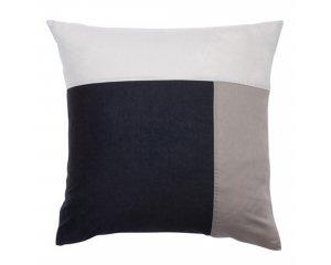 50 sur la taie d 39 oreiller carr e ou rectangulaire en pur coton trois couleurs 3 suisses. Black Bedroom Furniture Sets. Home Design Ideas