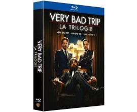 Amazon: Coffret Blu-Ray Very Bad Trip - La trilogie à 9.93€