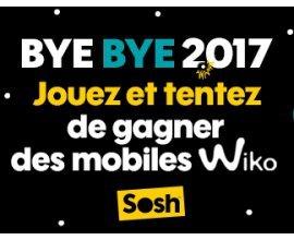 Sosh: 5 Smartphones Wiko à gagner