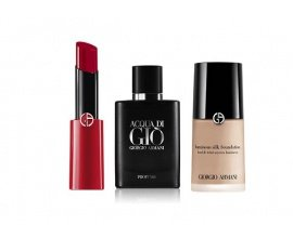Armani: 70 trousses beauté Armani (makeup et parfum) offertes
