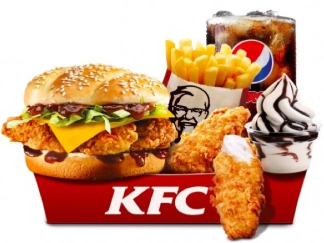 Code promo KFC : La Méga Box 5 édition limitée à 5€