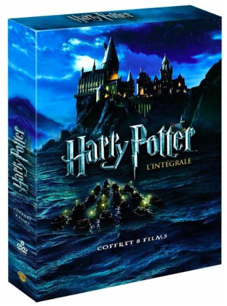 Code promo Amazon : Coffret DVD L'Intégrale des 8 Films Harry Potter à 20€ au lieu de 30.08€