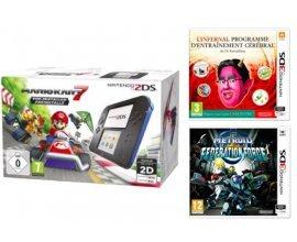 Fnac: Nintendo 2DS Mario Kart + Metroid + L'infernal programme d'entrainement cérébral à 89,99€