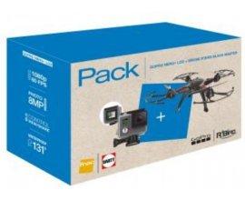 FranceTV: 1 coffret GoPro Hero + LCD + Drone R'Bird Black Master DM240 Noir à gagner