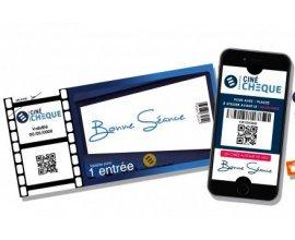 Fnac: [Adhérents Fnac] 5,75€ la place de cinéma Cinéchèque au lieu de 10€