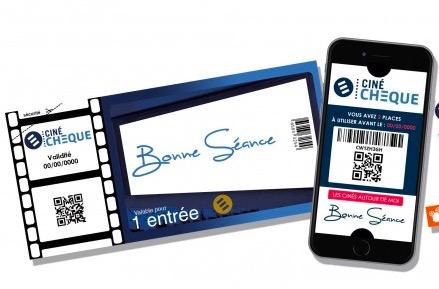 Code promo Fnac : [Adhérents Fnac/Darty] 5,95€ la place de cinéma Cinéchèque au lieu de 10€