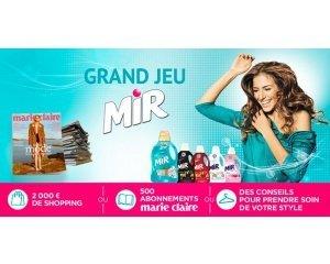La Belle Adresse: 2000€ de shopping, 500 abonnements Marie Claire... à gagner