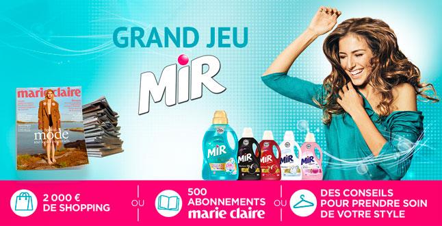 Code promo La Belle Adresse : 2000€ de shopping, 500 abonnements Marie Claire... à gagner