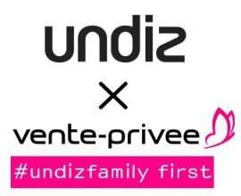 Undiz: Les soldes Undiz s'installent chez vente-privee.com : tout à - 50%