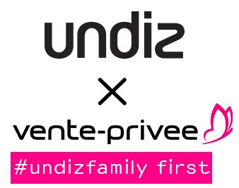 Code promo Undiz : Les soldes Undiz s'installent chez vente-privee.com : tout à - 50%