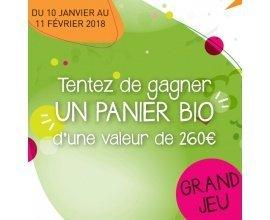 naturéO: 50 paniers bio de 32 produits à gagner (valeur : 262€)
