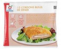 Toupargel: Cordons bleus de dinde (12 x 125 g) au prix de 11,98€ au lieu de 14,98€