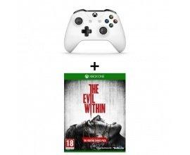 Cdiscount: Manette Xbox One sans fil blanche + Le jeu Evil Within à 39,99€