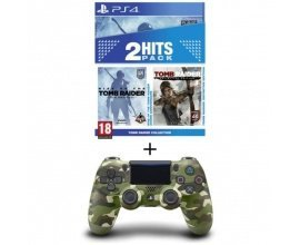 Cdiscount: Pack Tomb Raider Edition Definitive + Rise of the Tomb Raider PS4 +Manette PS4 DualShock 4 à 79,99€