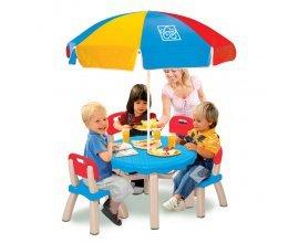 King Jouet: Table avec chaises et parasol en solde à 44,99€ au lieu de 89,99€
