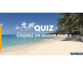 Air France: À gagner un séjour pour 2 à La Barbade.