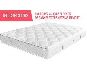 1 matelas memory duvivier gagner psychologies magazine. Black Bedroom Furniture Sets. Home Design Ideas