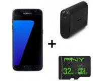Cdiscount: Smartphone Samsung Galaxy S7 + Batterie externe + Carte Mémoire 32 Go à 349€ (dont 70€ via ODR)