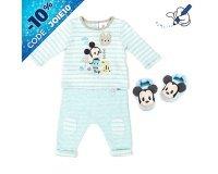 Disney Store: Ensemble pyjama et chaussons Mickey Mouse pour bébé à 14€ au lieu de 28€