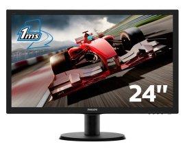 """Rue du Commerce: PHILIPS - Ecran 24"""" 1ms VGA/DVI/HDMI Full HD à 99,90€ au lieu de 149,90€"""