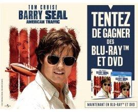 "BFMTV: 5 Blu-ray & 10 DVD du film ""Barry Seal American Traffic"" à gagner"