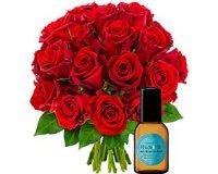 Florajet: 20 roses + eau de toilette 30ml à 51€