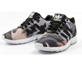 Rue du Commerce: [Soldes] Baskets ZX FLUX W RITA ORA Noir - Adidas originals à 53,99€ au lieu de 99,95€