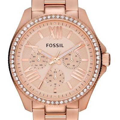 Code promo Montres & Co : Montre femme Fossil AM4483 en solde à 129€ au lieu de 189€