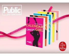 """Public: 20 lots de 2 livres """"Calendar girl"""" + bracelet collector à gagner"""