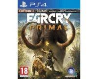 Cdiscount: Jeu PS4 Far cry primal edition spéciale à 18,37€ au lieu de 39.99€