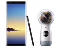 Boulanger: Smartphone Samsung Galaxy Note 8 + Caméra sport Samsung Gear 360 à 759€ (dont 100€ via ODR)