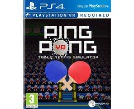 Fnac: Jeu Ping Pong Table Tennis Simulator PS4 en solde à 8€