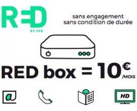 Showroomprive: Abonnement internet RED BOX jusqu'à ↓100Mb/s | ↑10MB/ sans engagement à 10€/mois à vie